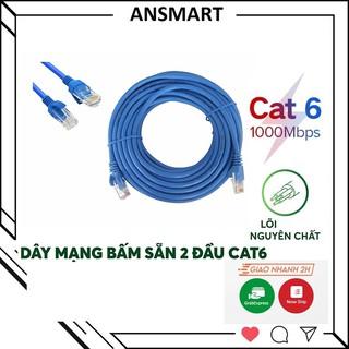 Dây mạng CAT6 bấm sẵn 2 đầu dài 10M 15M 20M 25M 30M 35M 40M 45M 50M [ ANSMART ]