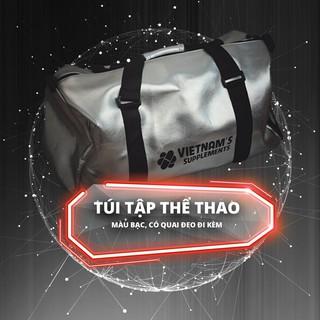 TÚI ĐI TẬP GYM, THỂ THAO THỜI TRANG (MÀU BẠC) thumbnail