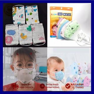 Khẩu trang xô nhật cho bé và khẩu trang 3D Mask (bán lẻ 1 cái) thumbnail