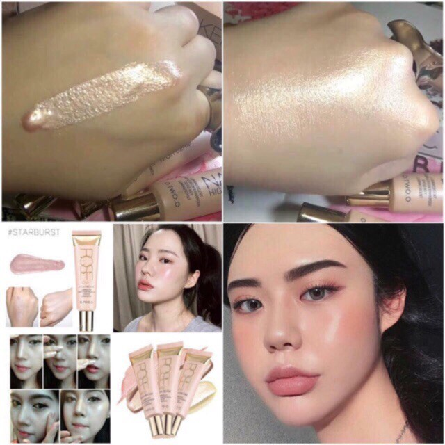 Kem Lót Bắt Sáng O.TWO.O High Light Rose Gold - Best Seller Of O.TWO.O