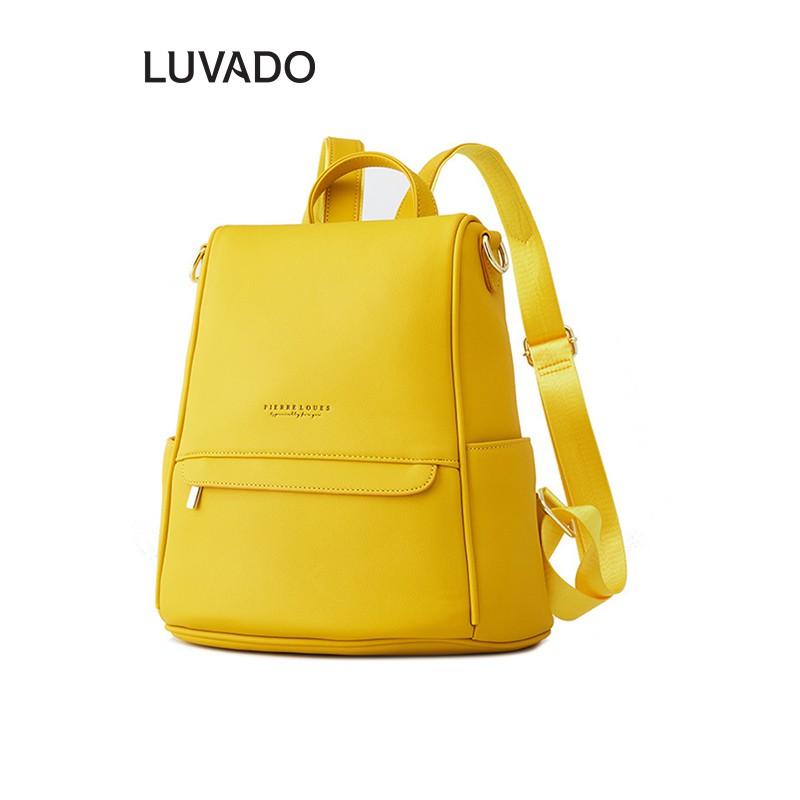 Balo nữ đẹp đi học thời trang PIERRE LOUES Nhỏ cá tính LUVADO BL120