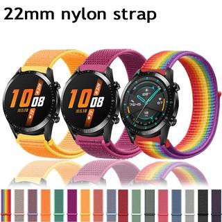 Dây Đeo Nylon 22mm Cho Đồng Hồ Thông Minh Huawei Watch Gt2 46mm