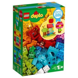 【Hàng Chính Hãng Đảm Bảo】LEGODuplo/Depot Dòng Tự Do Của Tôi Sáng Tạo Chơi Vui Vẻ Hộp 10887 CBfX