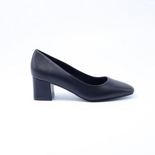 Giày Mũi Vuông Đế Vuông Da PU 5cm Evashoes - Eva0040 thumbnail
