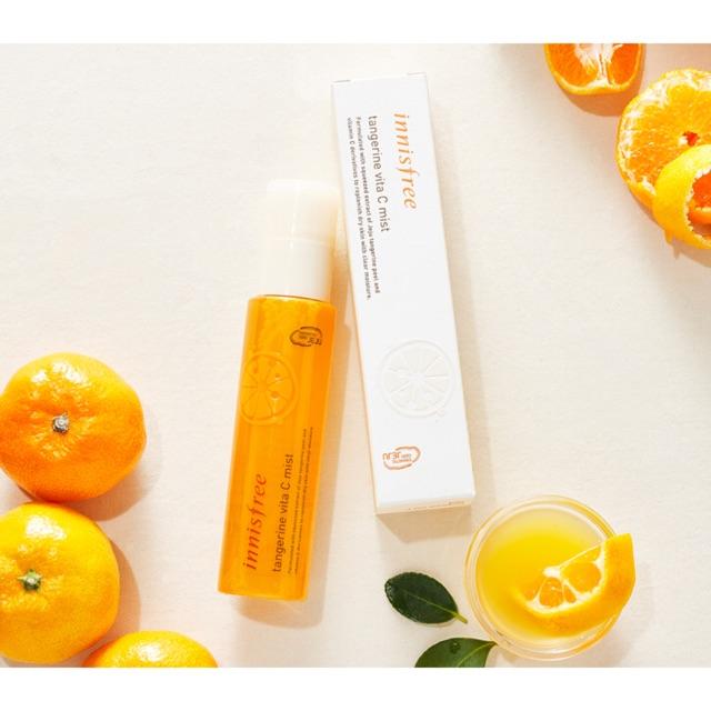 Xịt Khoáng Innisfree Tangerine Vita C Mist - 2629842 , 340153369 , 322_340153369 , 210000 , Xit-Khoang-Innisfree-Tangerine-Vita-C-Mist-322_340153369 , shopee.vn , Xịt Khoáng Innisfree Tangerine Vita C Mist