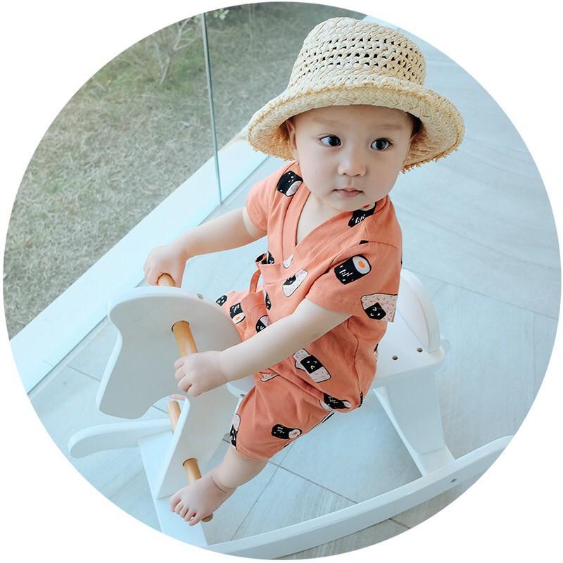 Set Pijama Sushi (Cam) - Set đồ bé trai - Quần áo bé trai - 3207745 , 1033657928 , 322_1033657928 , 270000 , Set-Pijama-Sushi-Cam-Set-do-be-trai-Quan-ao-be-trai-322_1033657928 , shopee.vn , Set Pijama Sushi (Cam) - Set đồ bé trai - Quần áo bé trai
