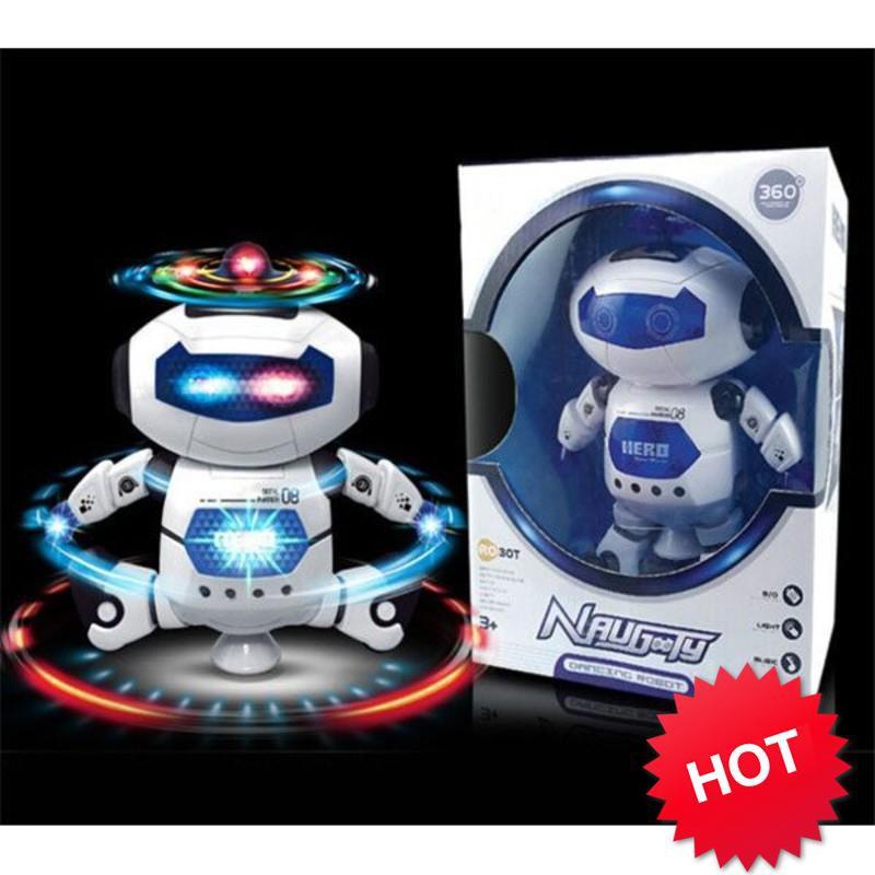 [SẬP GIÁ SỈ = LẺ] – Đồ chơi Robot thông minh nhảy múa hát xoay 360 độ(Nhiều màu)