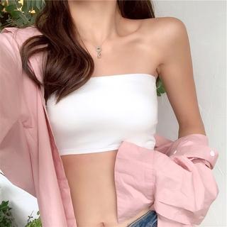 [Mã FASHIONG10 giảm 10k đơn 50K] Áo Ngực Ống Không Dây Kiểu Dáng Đơn Giản Cho Nữ