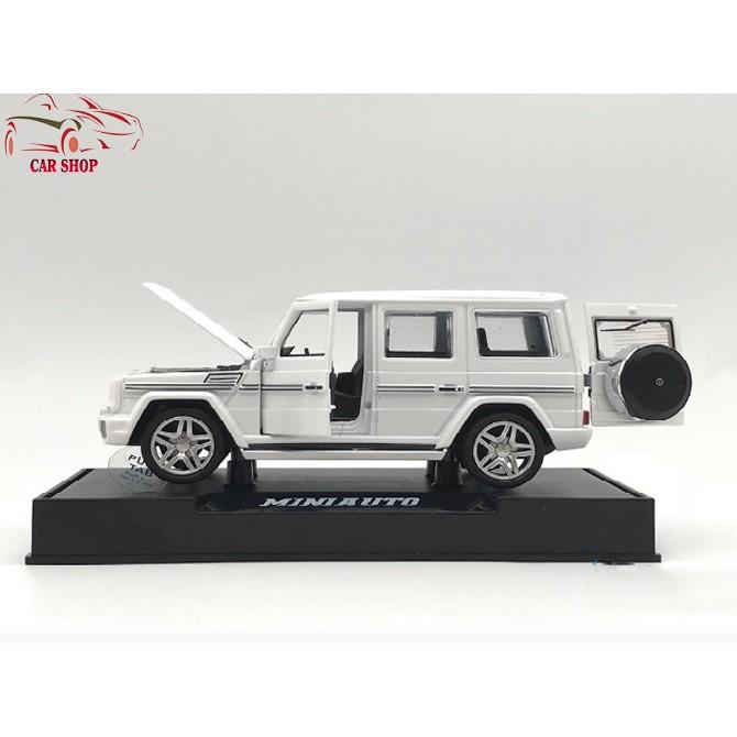 Xe mô hình hợp kim Mercedes-Benz G65 tỉ lệ 1:32 màu trắng