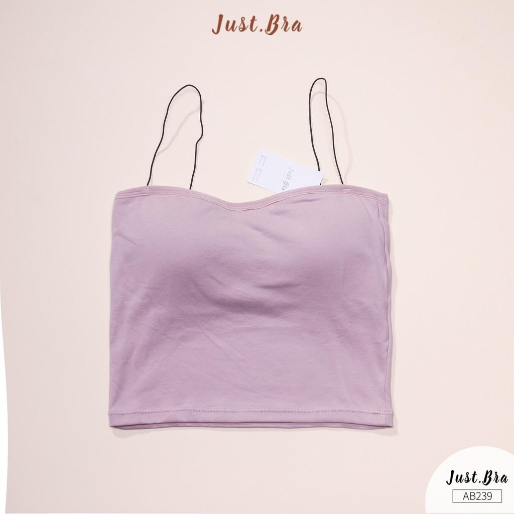 Áo bra Just Bra dây vai mảnh gợi cảm AB239