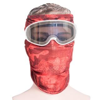 Khẩu trang kính bảo hộ màu đỏ GM005