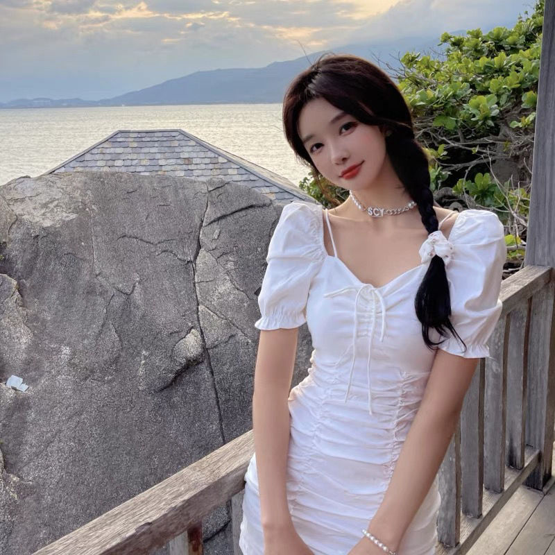 Mặc gì đẹp:  Đầm Ôm Dáng Màu Trơn Thời Trang Mùa Hè Phong Cách Hàn Quốc Cho Nữ