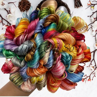 Chỉ Cotton Loang Airo Chọn Màu Từng Tép