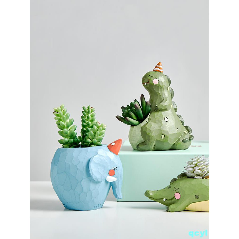 Nordic minimalist simulation fleshy flower pot ornament crea