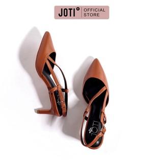 JOTI Giày Cao Gót Công Sở Nữ Romina Slingback 3212VN6 2021 - Quai Chéo Trẻ Trung Với Đế Nhọn 6cm - Mang Đi Làm Dự Tiệc thumbnail