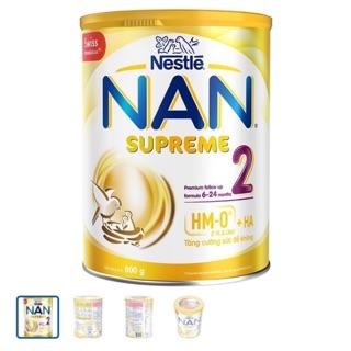 Sữa nan supreme 2(800g) mẫu mới date mới lon nhám