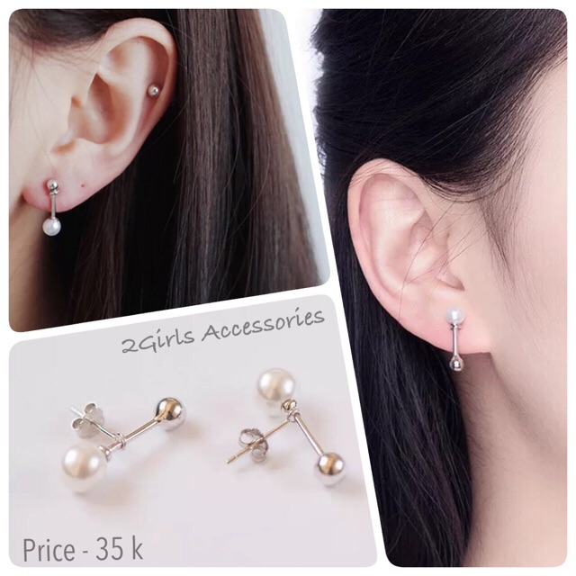 Bông tai bạc 925 ngọc trai giá rẻ đeo hàn quốc đáng yêu cực dễ mang, khuyên tai bạc - 2926167 , 1010515206 , 322_1010515206 , 49000 , Bong-tai-bac-925-ngoc-trai-gia-re-deo-han-quoc-dang-yeu-cuc-de-mang-khuyen-tai-bac-322_1010515206 , shopee.vn , Bông tai bạc 925 ngọc trai giá rẻ đeo hàn quốc đáng yêu cực dễ mang, khuyên tai bạc