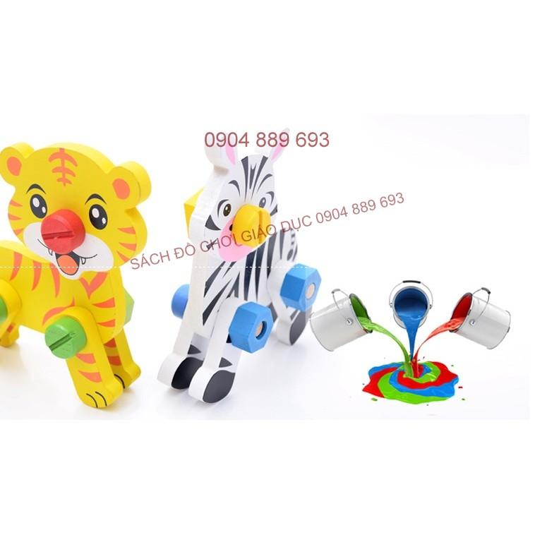 Đồ chơi vặn ốc vít: Bộ lắp ghép con vật ( hổ và ngựa vằn) - 2619577 , 440437350 , 322_440437350 , 95000 , Do-choi-van-oc-vit-Bo-lap-ghep-con-vat-ho-va-ngua-van-322_440437350 , shopee.vn , Đồ chơi vặn ốc vít: Bộ lắp ghép con vật ( hổ và ngựa vằn)