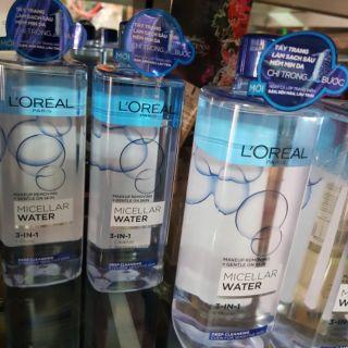 Nước Tẩy Trang L oreal 3 Trong 1 L oreal Moisturizing Micellar Water Cleanser