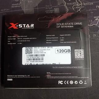Ổ CỨNG SSD 120G XSTAR sata3 2.5 thumbnail