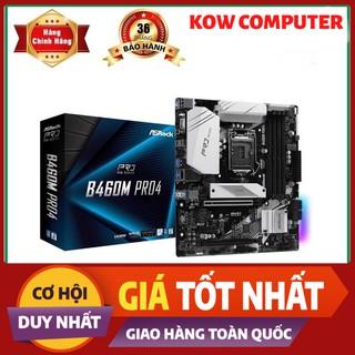 Combo CPU Intel I3 10100 Box vs Mainboard Asrock B460M Pro 4 - Hàng Chính Hãng
