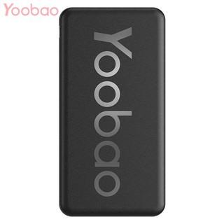 Sạc Dự Phòng Yoobao 10000mAh Pin Polymer Cao Cấp Siêu Mỏng – YOOBAO P10T
