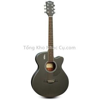 Đàn Guitar Acoustic Rosen G11BK-A (Gỗ Thịt- Solid top)