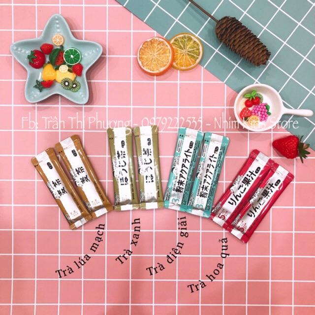 Set trà wakodo 8 gói 4 vị khác nhau cho bé