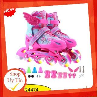 Combo Giày patin thể thao MEASIN dành cho bé có 3 màu Siêu Ưu đãi