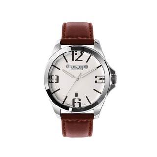 Đồng hồ nam JAH-078A Julius Home Hàn Quốc dây da (Nâu)