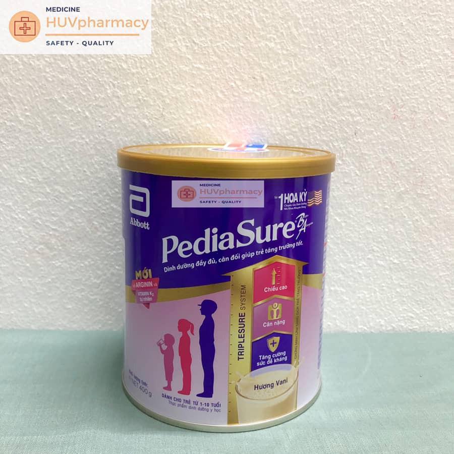 Sữa bột Pediasure 400g( Thêm Quà Tặng)