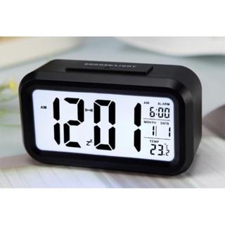 Đồng hồ LCD Led để bàn thông minh HD51 đo nhiệt độ hình chữ nhật có thiết kế nhỏ gọn không chỉ giúp bạn xem giờ mà còn c thumbnail