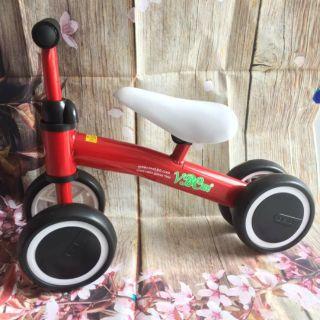 Xe chòi chân 4 bánh(màu đỏ)