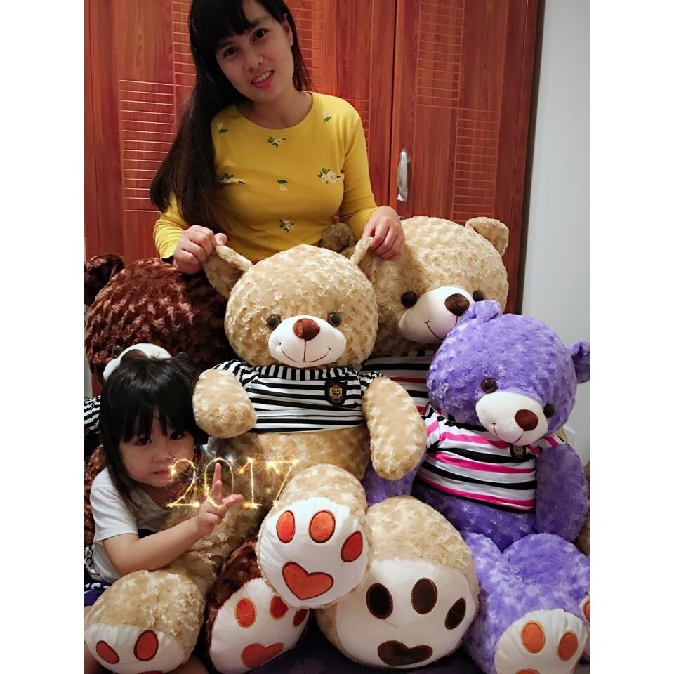 320k sale 50% - Gấu Teddy 1m - Gấu bông Nâu đen
