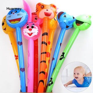 ★Hu 1Pc Animal Inflatable Air Stick Blow Bar Noisemaker Party Kids Cheer up Prop