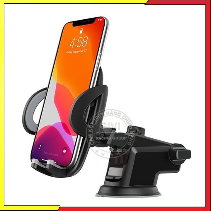 Giá đỡ điện thoại Hoco CA31A trên xe hơi, sử dụng đa năng tiện dụng, tương thích các thiết bị dưới 3.5-7inch