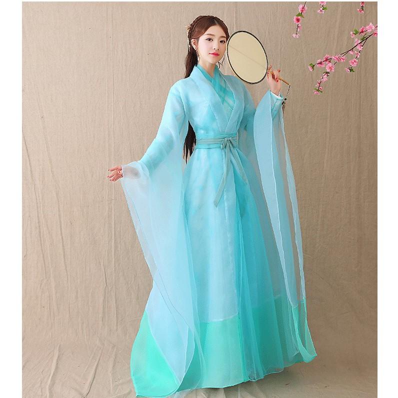 Váy cổ trang Bạch Thiển/ Dương Mịch trong Tam sinh tam thế thập lý đào hoa