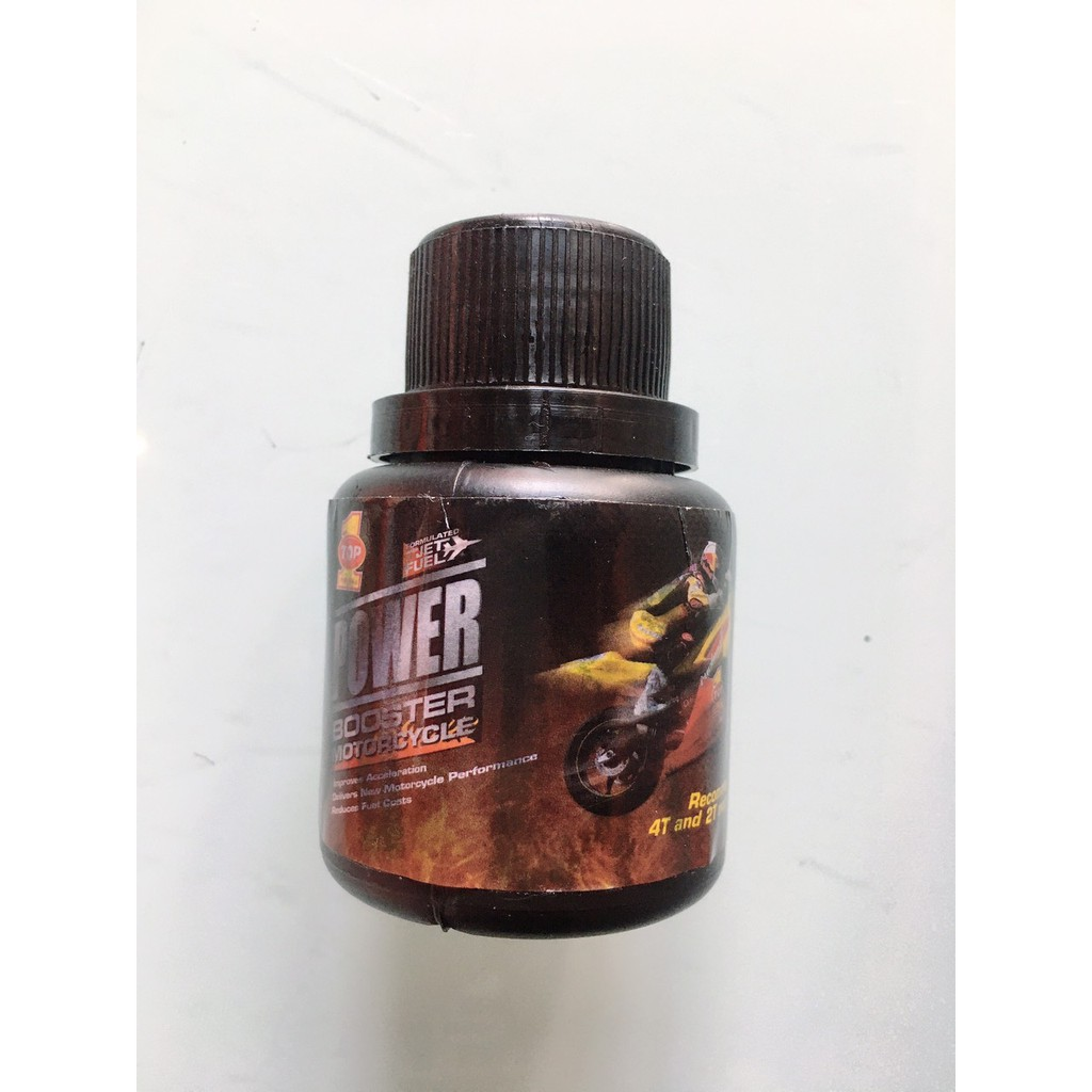 Phụ gia vệ sinh buồng đốt TOP 1 Power Booster 50ml chamsocxestore