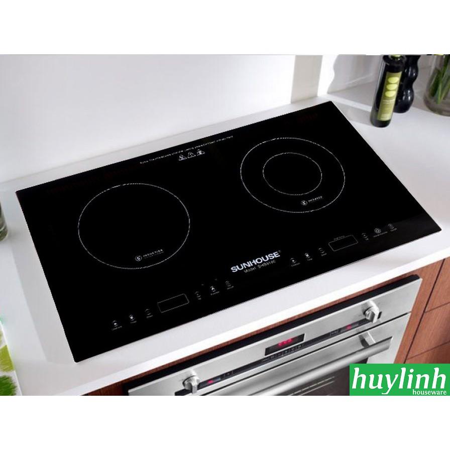 Bếp đôi điện từ hồng ngoại SUNHOUSE SHB9100
