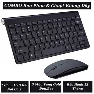 [COMBO]Bàn Phím Không Dây Và Chuột Không Dây KB205 Tương Thích Đa Thiết Bị Laptop,Máy Để Bàn,Smart TV