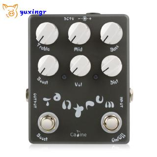 CP-15 Tantrum Heavy Metal Guitar Effects Guitar Stompbox Distortion Mode Pedal String Instrument Accessory