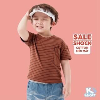Hình ảnh Áo Phông Cộc Tay Bé Trai (1-6 Tuổi) K's Closet B001TES / B023TES HD-1