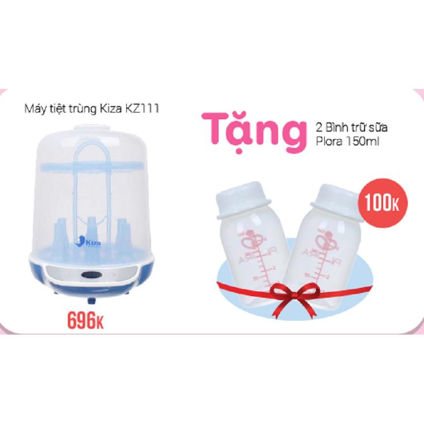 [3107 Tặng 2 bình trữ sữa] Máy tiệt trùng bình sữa Kiza KZ111 - 3576302 , 1147820682 , 322_1147820682 , 696000 , 3107-Tang-2-binh-tru-sua-May-tiet-trung-binh-sua-Kiza-KZ111-322_1147820682 , shopee.vn , [3107 Tặng 2 bình trữ sữa] Máy tiệt trùng bình sữa Kiza KZ111
