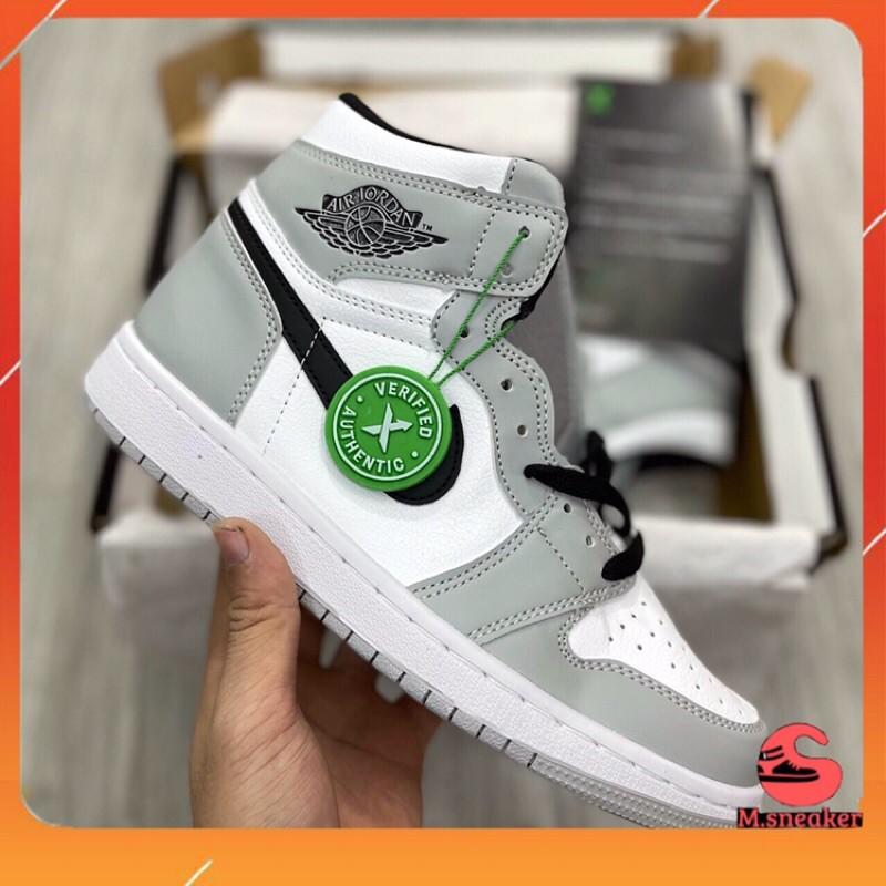 |m.sneaker| giày thể thao jd1 xám đen cao cổ nam nữ