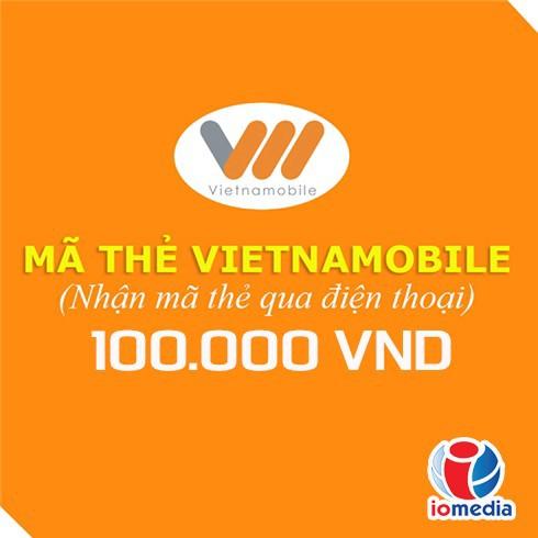 Mã thẻ Vietnamobile 100.000