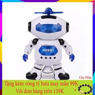 Shop Gia Hân – Combo 2 Robot Biết Nhảy Và Hát Xoay 360 Độ Vui Nhộn
