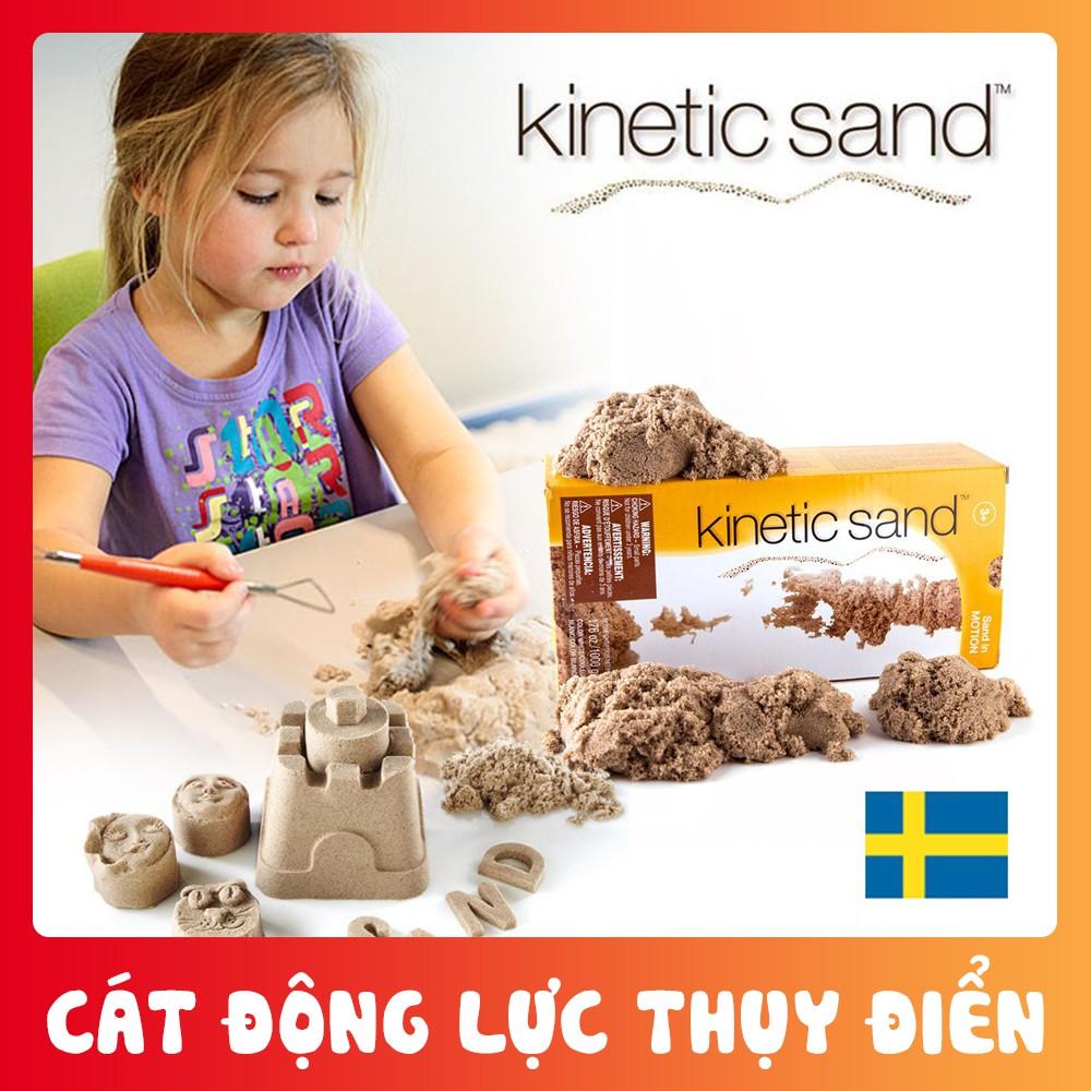 [Mã TOYFSS7 hoàn 20K xu đơn 50K] Cát động lực Kinetic Sand chính hãng Waba Fun (Thụy Điển)[Shop yêu thích]