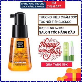 FREESHIP - Tinh dầu dưỡng tóc uốn, dưỡng tóc khô xơ, tóc nhuộm Jckoo giúp giữ nếp, tạo nếp, phục hồi hư tổn K i n g thumbnail