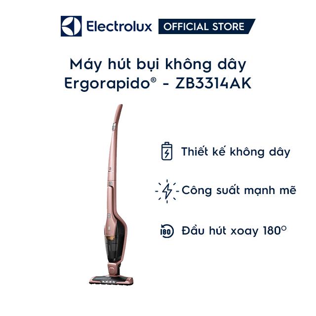 [Mã ELMIDNIGHT giảm 7% đơn 2TR] Máy hút bụi không dây Electrolux ZB3314AK