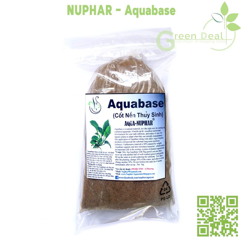 NUPHAR - Aquabase (Bao 1kg) - Cốt nền dinh dưỡng hồ thuỷ sinh